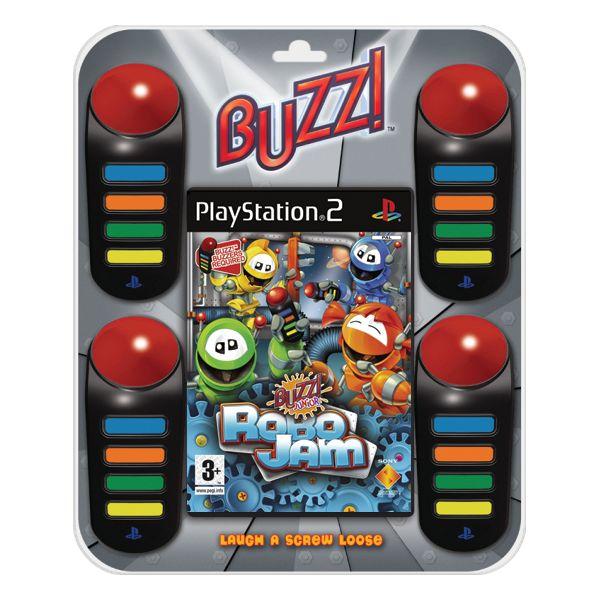 Buzz! Junior: RoboJam + bzuèiaky