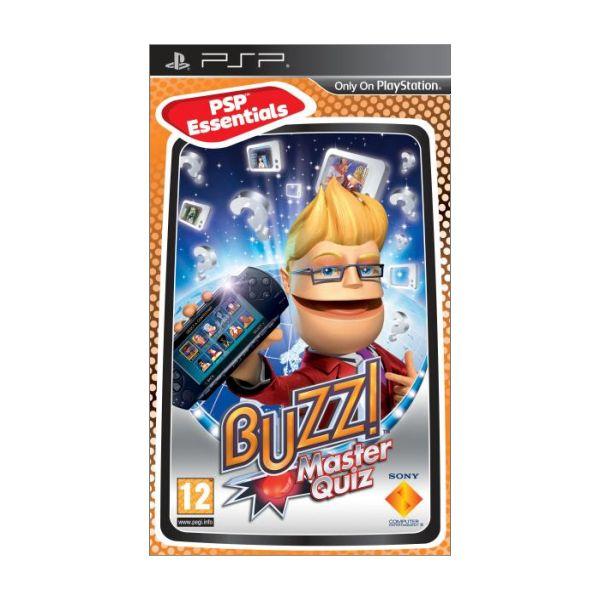 Buzz! Master Quiz [PSP] - BAZÁR (použitý tovar)