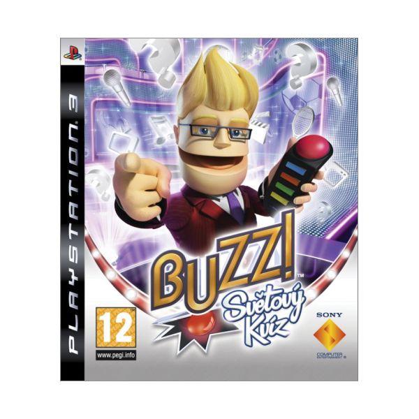 Buzz!: Svetový kvíz CZ + bezdrôtové Buzz! ovládaèe