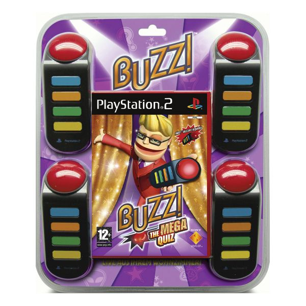 Buzz! The Mega Quiz + bzuèiaky