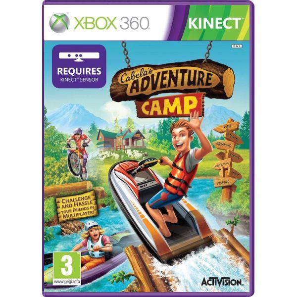Cabela's Adventure Camp [XBOX 360] - BAZÁR (použitý tovar)