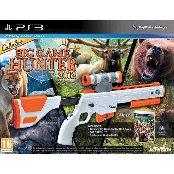 Cabela�s Big Game Hunter 2012 + Top Shot Elite