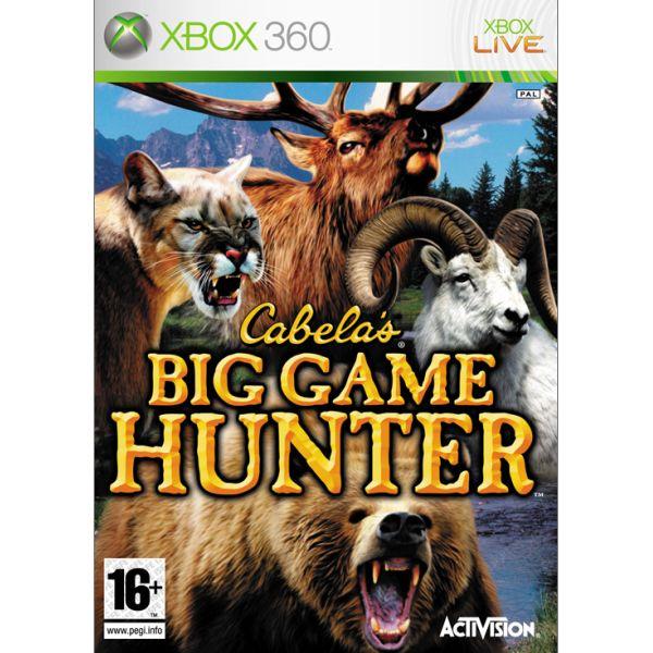 Cabela's Big Game Hunter [XBOX 360] - BAZÁR (použitý tovar)