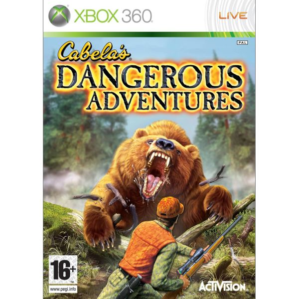 Cabela's Dangerous Adventures XBOX 360