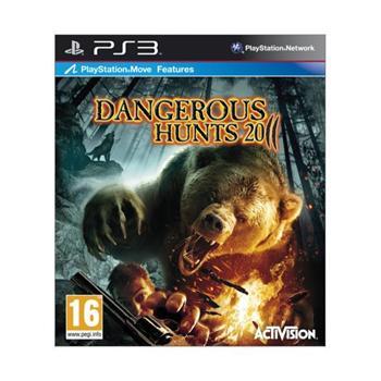 Cabela's Dangerous Hunts 2011 [PS3] - BAZÁR (použitý tovar)