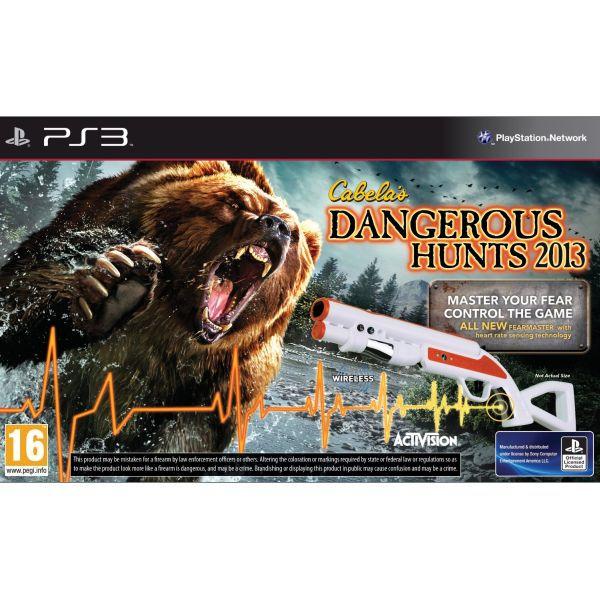 Cabela's Dangerous Hunts 2013 + Top Shot FearMaster