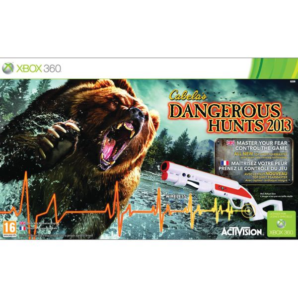 Cabela's Dangerous Hunts 2013 + Top Shot FearMaster XBOX 360