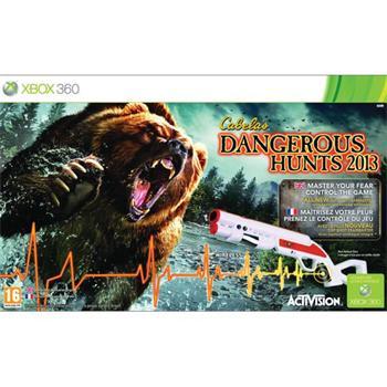 Cabela's Dangerous Hunts 2013 + Top Shot FearMaster [XBOX 360] - BAZÁR (použitý tovar)