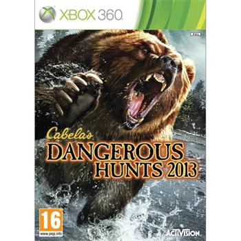 Cabela�s Dangerous Hunts 2013 [XBOX 360] - BAZ�R (pou�it� tovar)
