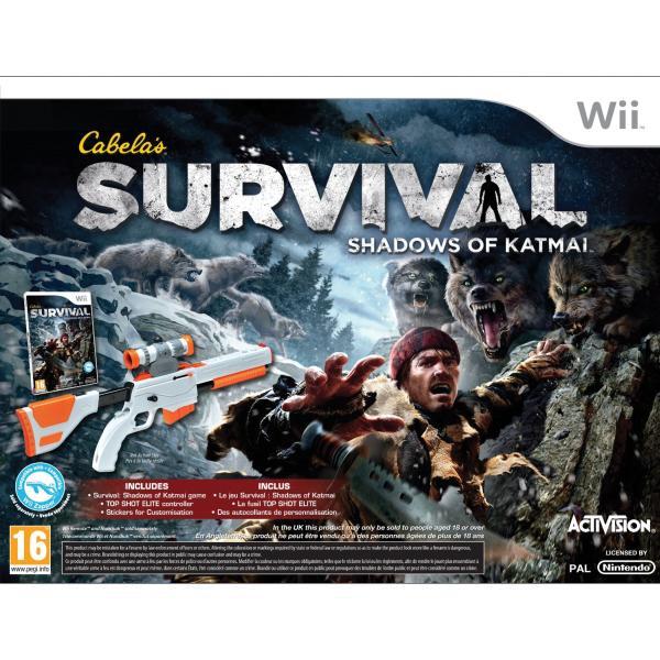 Cabela's Survival: Shadows of Katmai + Top Shot Elite
