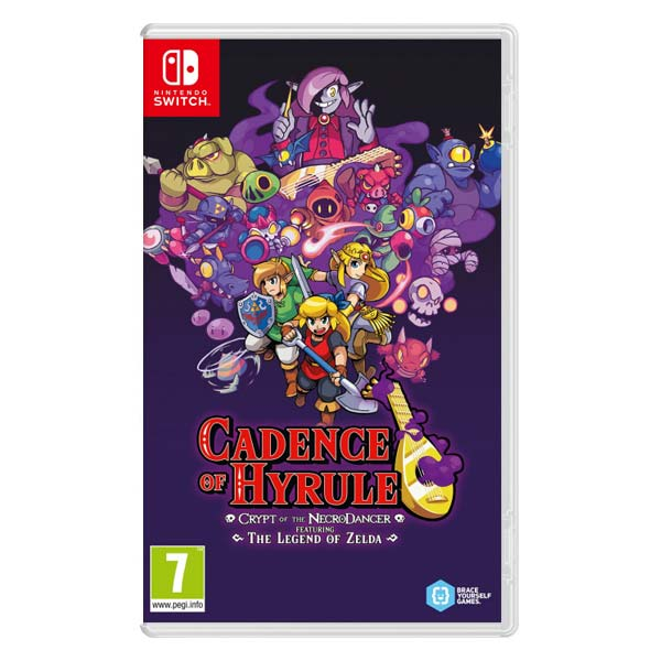 Cadence of Hyrule: Crypt of the NecroDancer featuring The Legend of Zelda NSW