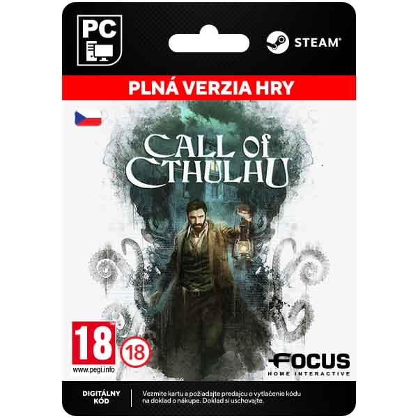 Call of Cthulhu CZ [Steam]