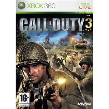 Call of Duty 3 [XBOX 360] - BAZ�R (pou�it� tovar)