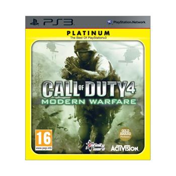 Call of Duty 4: Modern Warfare-PS3 - BAZ�R (pou�it� tovar)