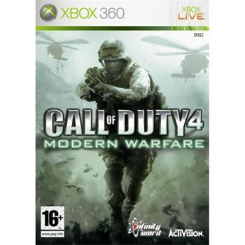 Call of Duty 4: Modern Warfare- XBOX 360- BAZÁR (použitý tovar)