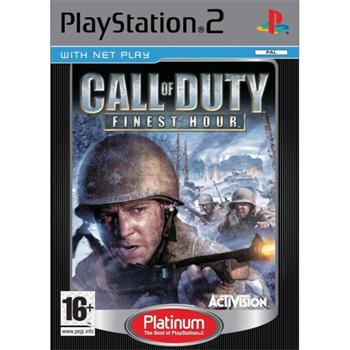 Call of Duty: Finest Hour [PS2] - BAZ�R (pou�it� tovar)