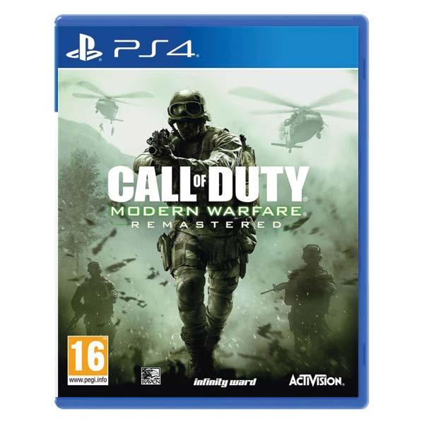 Call of Duty: Modern Warfare (Remastered) [PS4] - BAZÁR (použitý tovar)