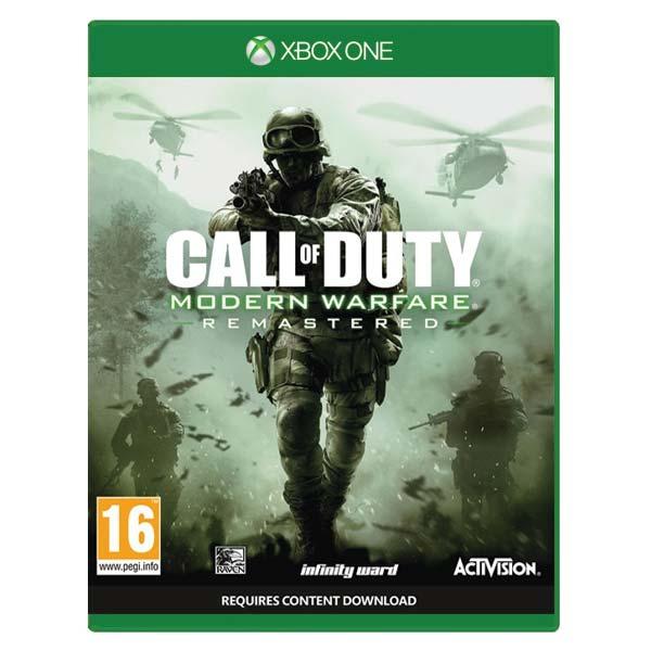 Call of Duty: Modern Warfare (Remastered) [XBOX ONE] - BAZÁR (použitý tovar)
