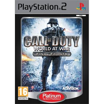 Call of Duty World at War: Final  Fronts [PS2] - BAZ�R (pou�it� tovar)
