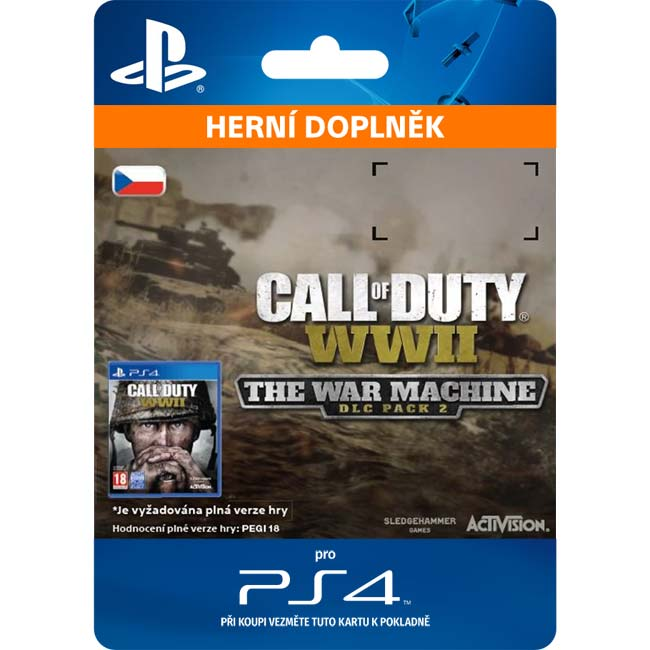 Call of Duty: WW2 (The War Machine: DLC Pack 2 CZ)
