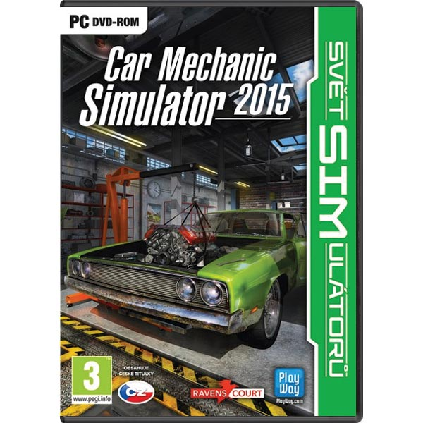 Car Mechanic Simulator 2015 CZ
