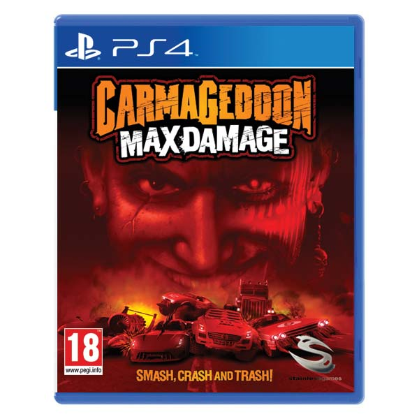 Carmageddon: Max Damage [PS4] - BAZ�R (pou�it� tovar)