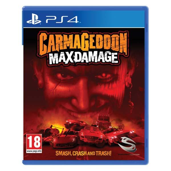 Carmageddon: Max Damage [PS4] - BAZÁR (použitý tovar)