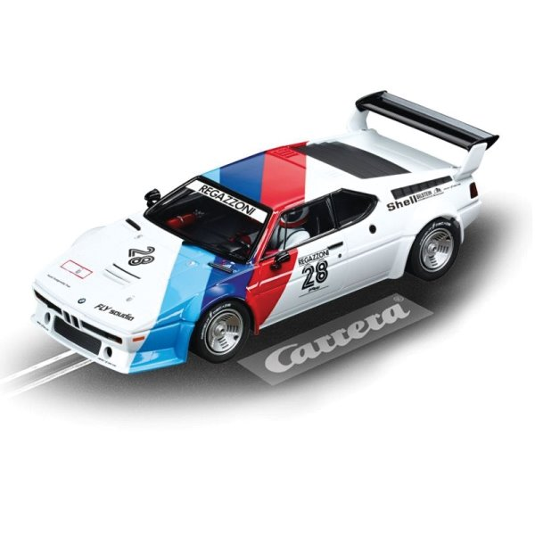 Carrera Digital 124 BMW M1 Regazzoni 1979