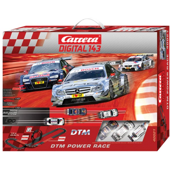 Carrera Digital 143 DTM Power Race