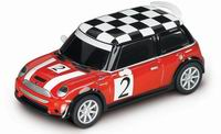 Carrera GO!!! Mini Cooper S - red