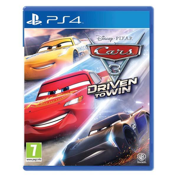 Cars 3: Driven to Win [PS4] - BAZÁR (použitý tovar)