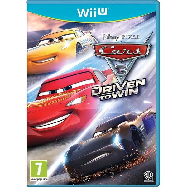 Cars 3: Driven to Win Wii U