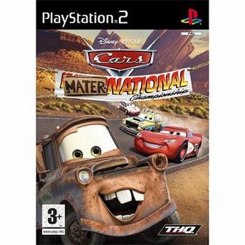 Cars: Mater-National Championship [PS2] - BAZÁR (použitý tovar)