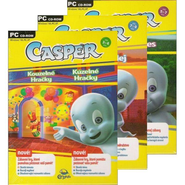 Casper: Kúzelné hraèky + Strašidelná alej + Zaèarovaný les SK