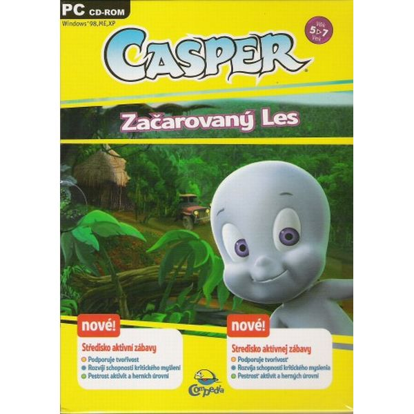Casper: Začarovaný les SK PC