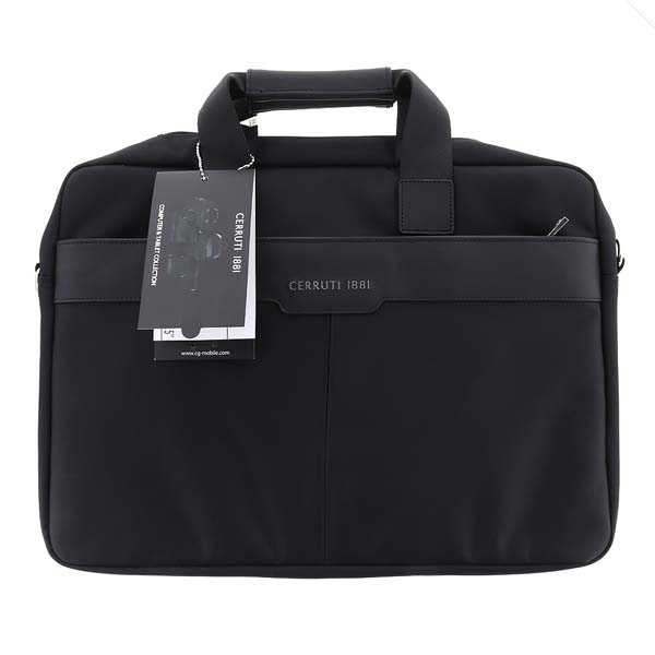 "Cerruti Messenger Bag 15"",  taška na notebook, black"
