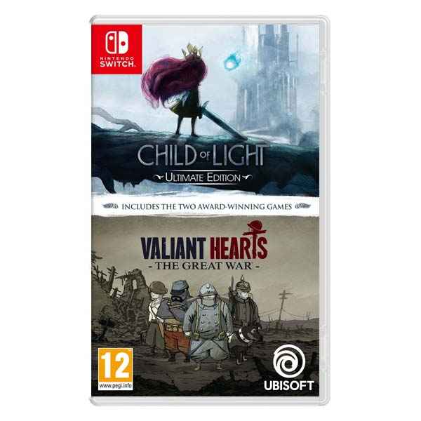 Child of Light (Ultimate Edition) and Valiant Hearts: The Great War (Double Pack) NSW