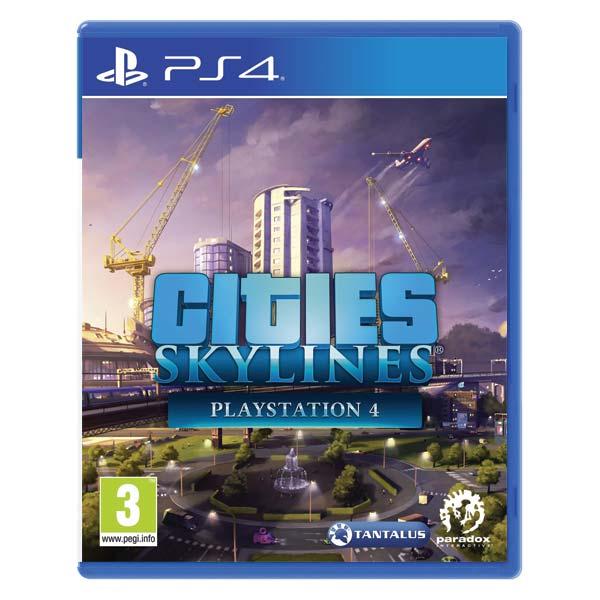 Cities: Skylines (PlayStation 4) [PS4] - BAZÁR (použitý tovar)