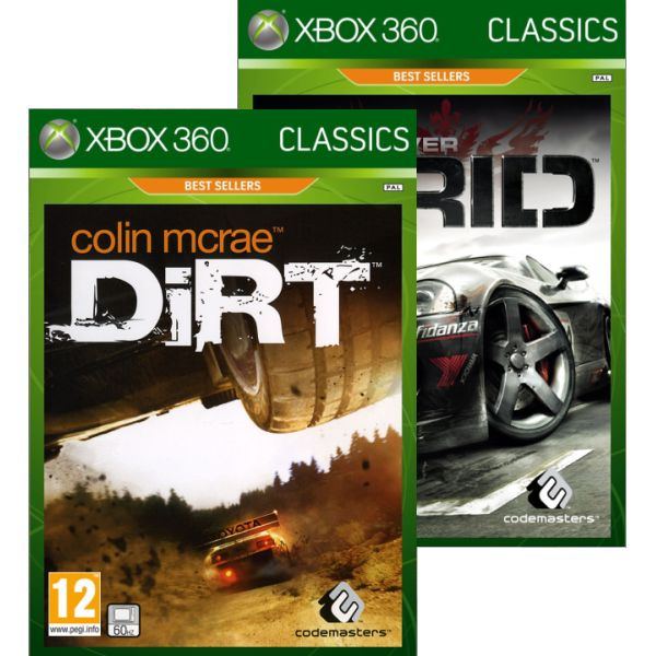 Colin McRae: DiRT/Race Driver GRID Double Pack