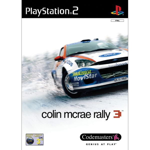 Colin McRae Rally 3 [PS2] - BAZÁR (použitý tovar)