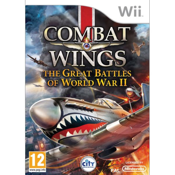 Combat Wings: The Great Battles of World War 2 Wii