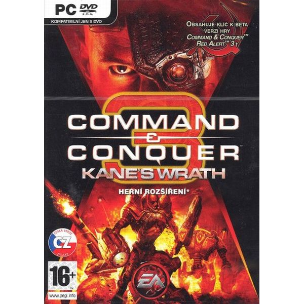 Command & Conquer 3: Kane's Wrath CZ