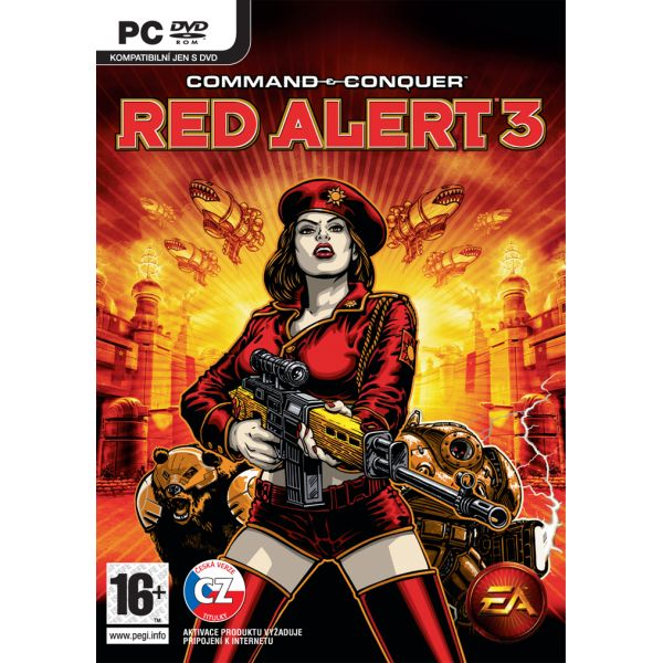 Command & Conquer: Red Alert 3 CZ