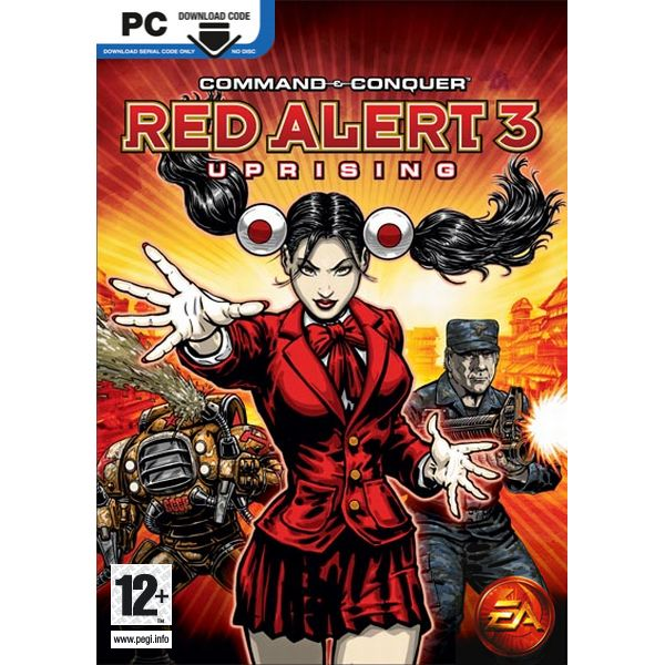 Command & Conquer Red Alert 3: Uprising CZ