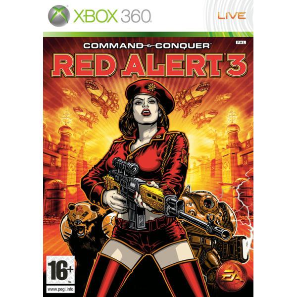Command & Conquer: Red Alert 3 [XBOX 360] - BAZÁR (použitý tovar)
