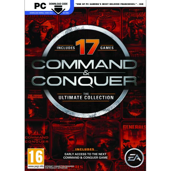 Command & Conquer (The Ultimate Collection) PC Code-in-a-Box