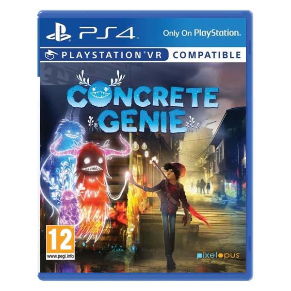Concrete Genie CZ [PS4] - BAZÁR (použitý tovar)