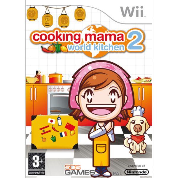 Cooking Mama 2: World Kitchen Wii