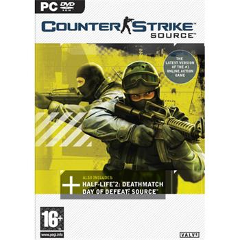 Counter Strike: Source DVD