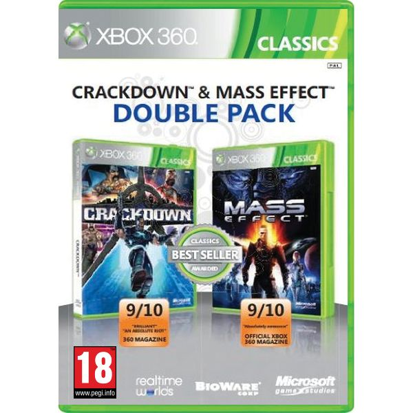 Crackdown CZ & Mass Effect (Double Pack) XBOX 360